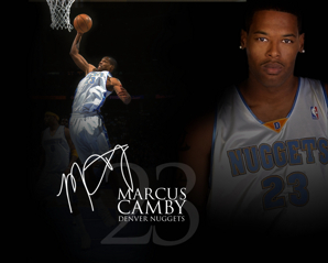 Marcus Camby for Denver Nuggets