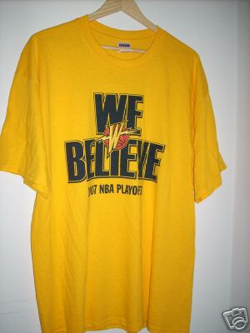 Golden State Warriors We Believe Shirt